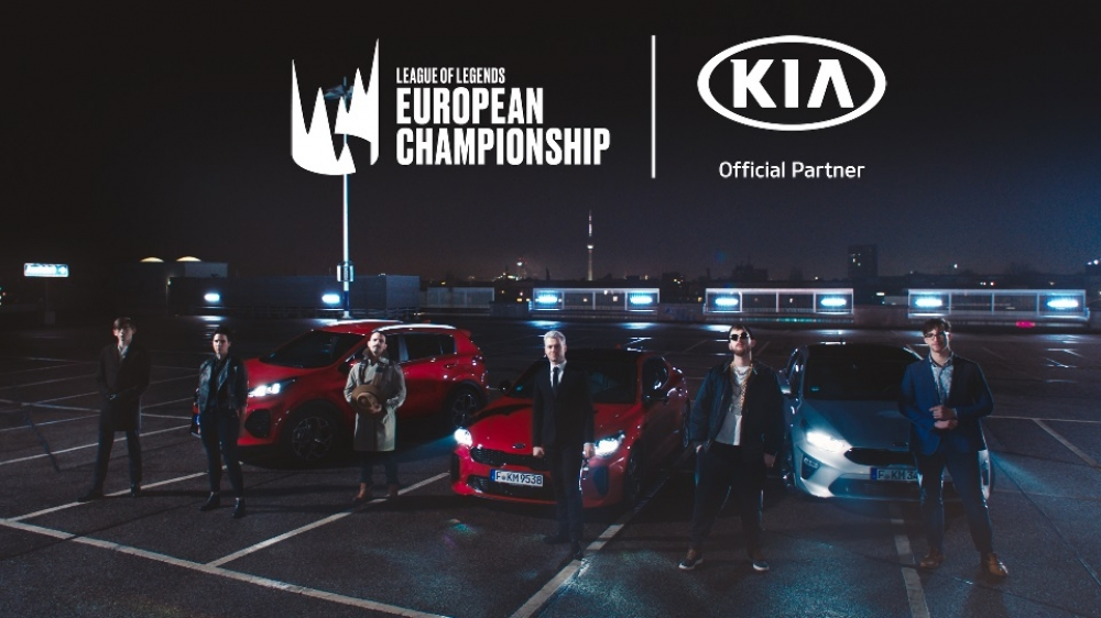 Kia Motors sponsorem Mistrzostw Europy w grze League of Legends