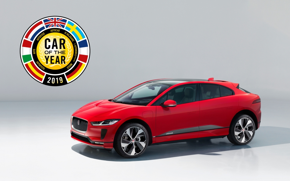 Jaguar I-PACE zwycięzcą Car Of The Year 2019