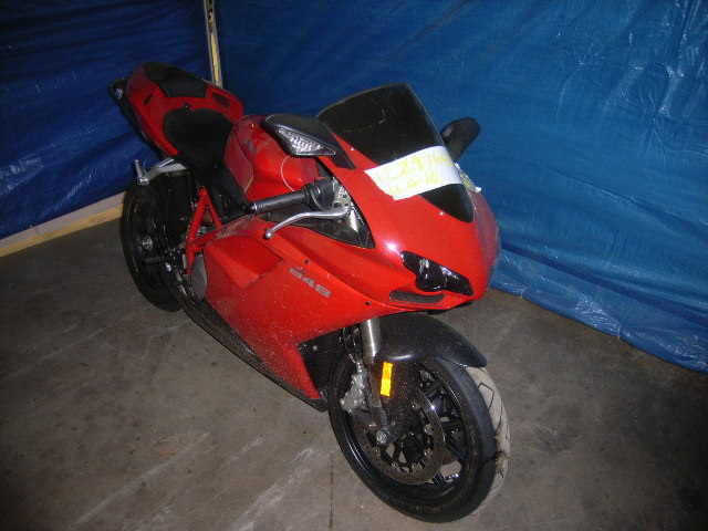 ducati 848 vin location