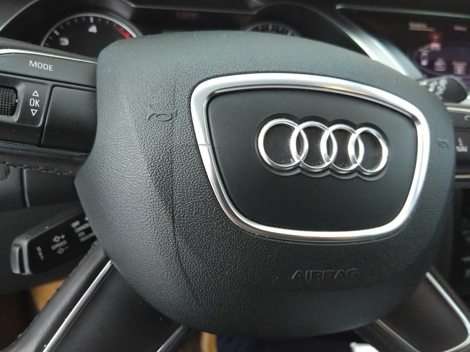 Bezwypadkowy Net Kierownica Audi A4 B8 Fl 2012 1 1